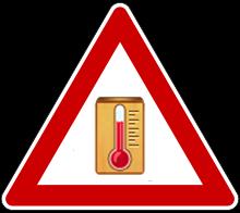 Hitze - Prognose für Oberbergischer Kreis
